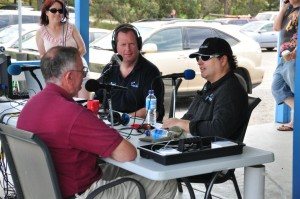 Steve & Grant recording live with David Pilkington at Tooradin
